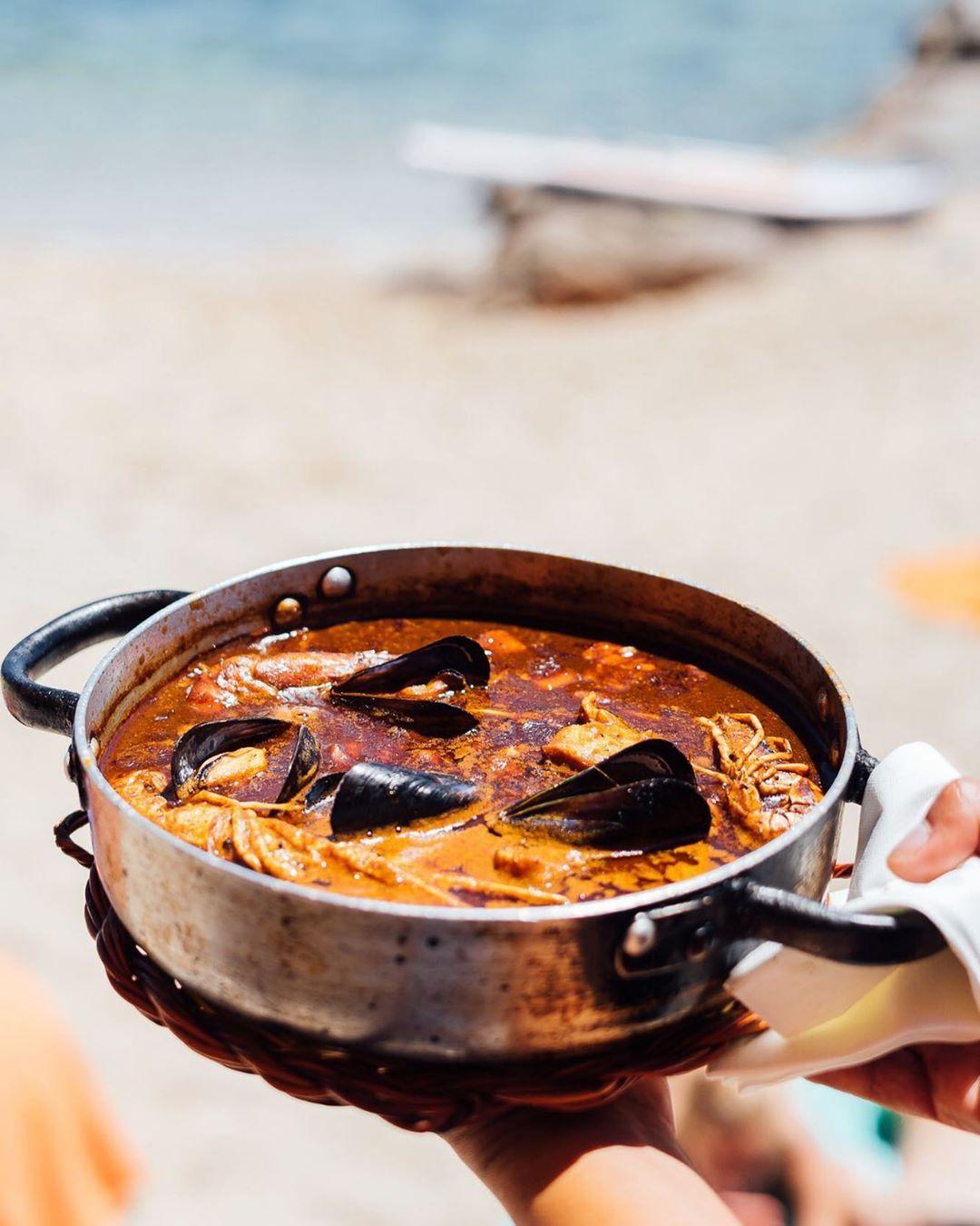 fotografía de comida en barcelona